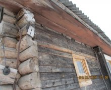 Обследования   строительных  конструкций  индивидуального деревянного жилого дома в поселке Аврово