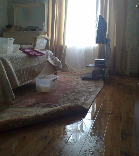 Техническое состояние квартиры после затопления