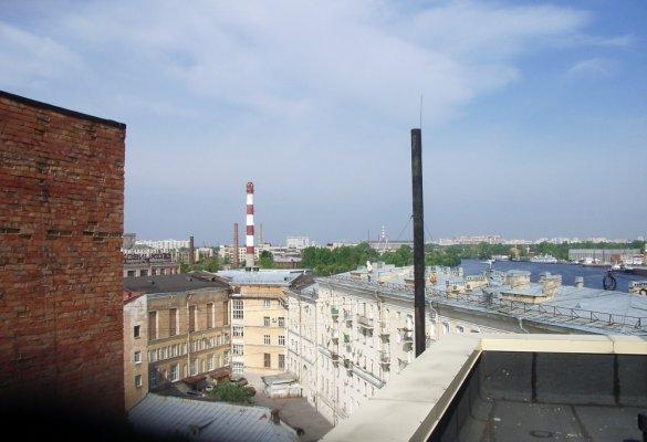 Техническое обследование крыши на предмет надстройки этажа на набережной Макарова